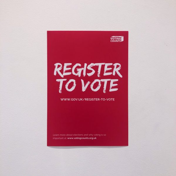Register To Vote Poster