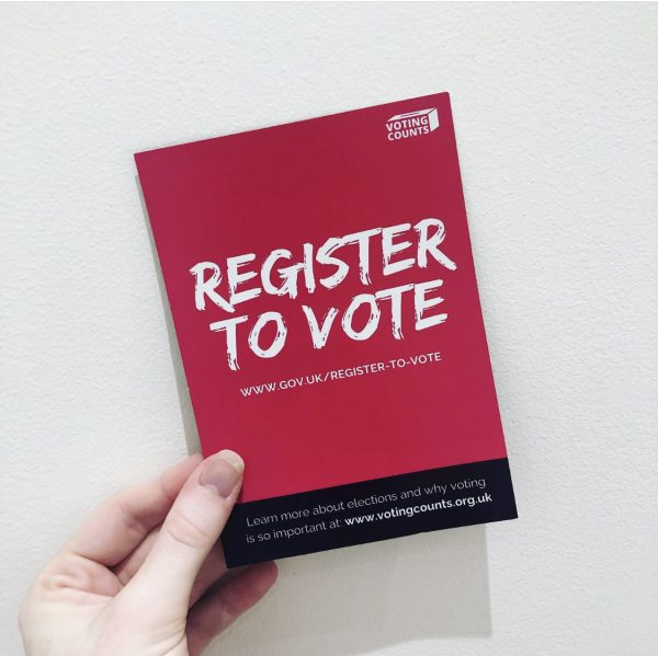 General Election / Register to Vote Flyer